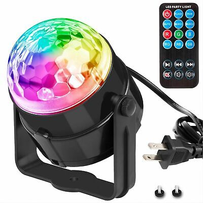 Disco Party Lights Strobe Led Dj Ball Sound Activated Bulb Dance Lamp Decoration Led Party Lights