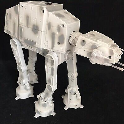 """STAR WARS! ELECTRONIC LIGHTS & SOUNDS """"AT-AT WALKER"""" U-COMMAND (THINKWAY TOYS)"""