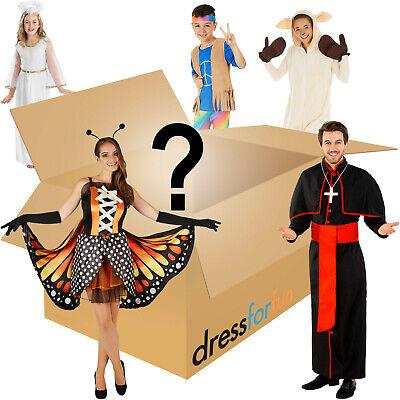 Restposten Überraschungskiste mit 5 x Kostüm Fasching Karneval Halloween B-Ware