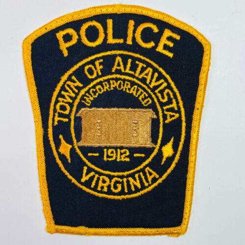 Altavista Police Campbell County Virginia VA Patch (B7)