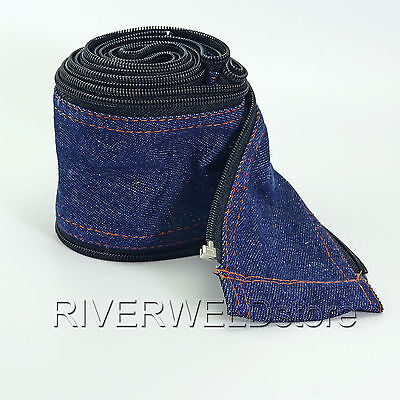 Tig Welding Torch Cable Cover Cowboy Zipper Jacket 3.6 Meter 11-18 Feet