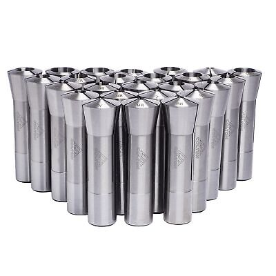 Colton Industrial Tools 25 Piece Ultra Precision R8 Round Collet Set 0.0005 Tir
