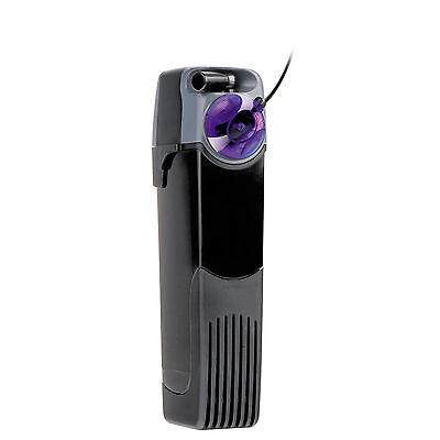 UNIFILTER UV POWER 500 FILTRO INTERNO 500L/H CON STERILIZZATORE UV LED ACQUARIO
