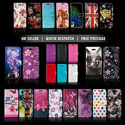 FOR SONY EXPERIA XPERIA XA2 & MANY FLIP WALLET BOOK STYLE OPEN PHONE CASE COVER