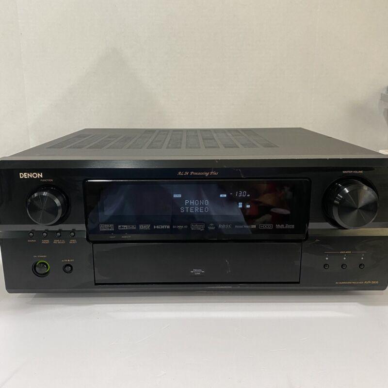 Denon AVR 3806 Surround Receiver AL 24 Processing Plus
