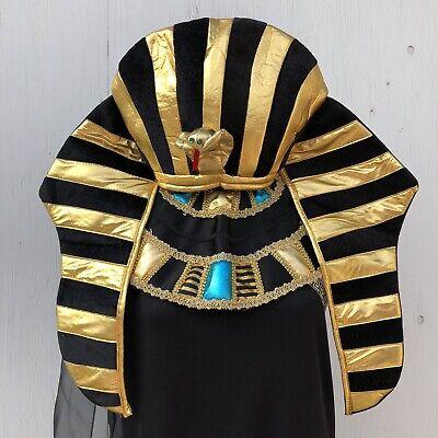 Egyptian Queen Mythology Pharaoh Royal Nefertiti Crown Adult Costume Size