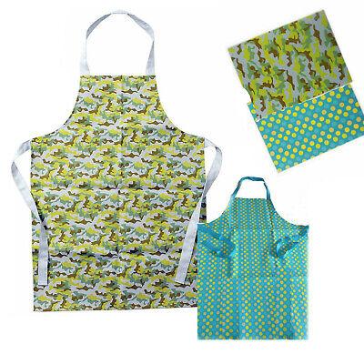 Waterproof Apron Kitchen Bib Restaurant Cooking Chef Butcher Waiter Vinyl Food