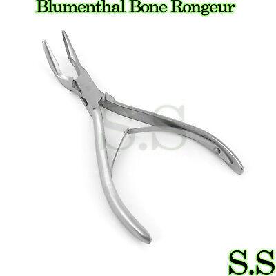 Blumenthal Bone Rongeurs 45 Degree 6 Surgical Dental Instruments