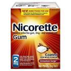 Gum & Lozenges for Smoking Cessation