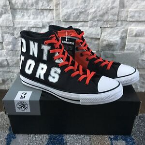 Converse Chuck SE Toronto Raptors Franchise High Top (size 10)