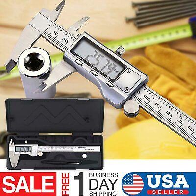Digital Caliper Vernier Micrometer Electronic Ruler Gauge Meter 150mm 6inch