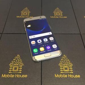 Good Condition Samsung S7 Edge, Silver, 32G Warranty Invoice