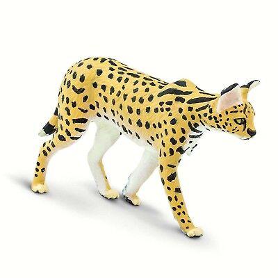 Serval Wild Safari Animal Figure Safari Ltd 100237 NEW IN STOCK