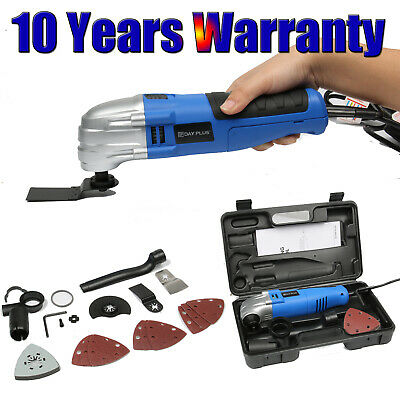 180W Oscillating Multi tool Detail Sander 13Pc Accessory Kit 110V Corded -