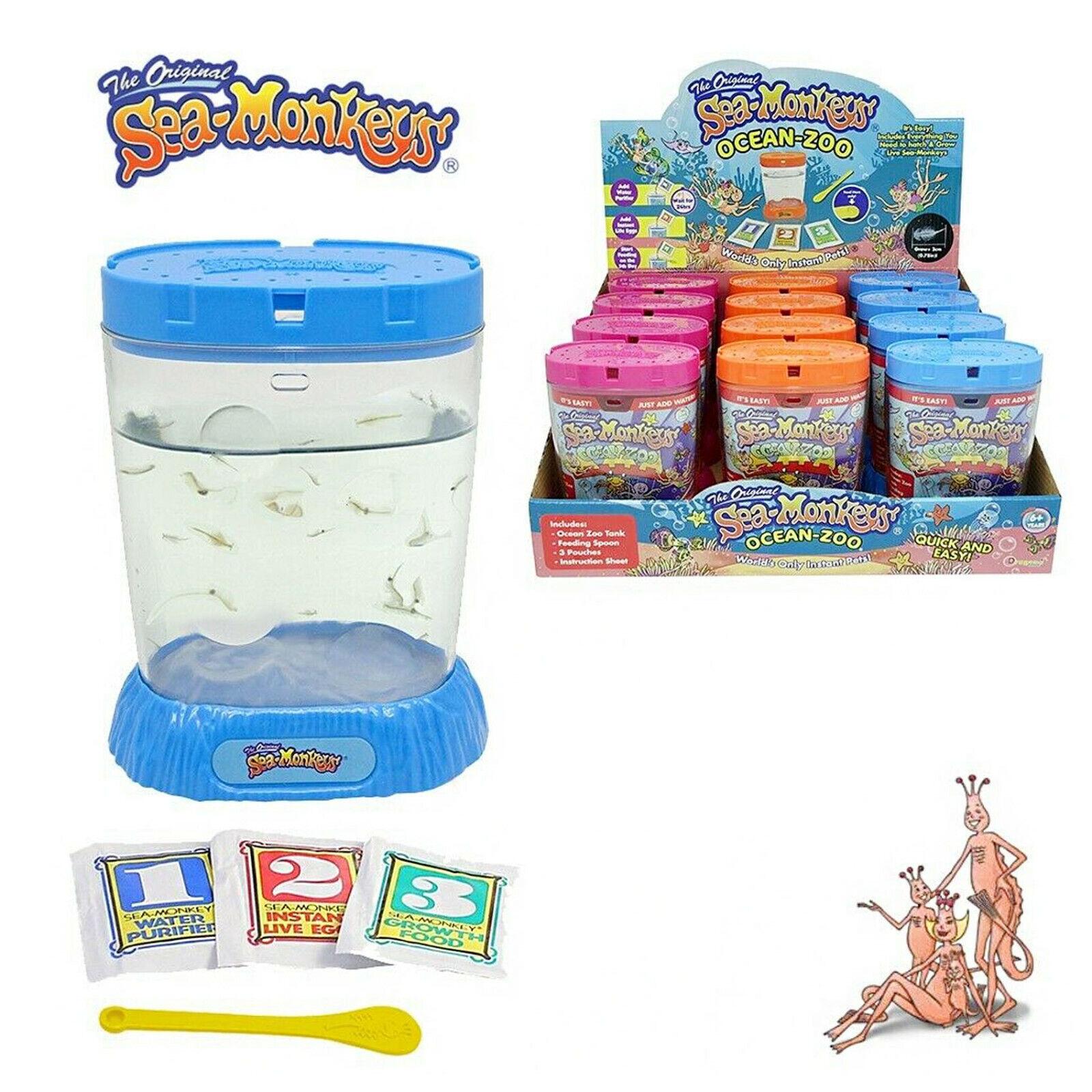The Original Sea Monkeys Ocean Zoo Kit Tank Aquarium Pets Kids