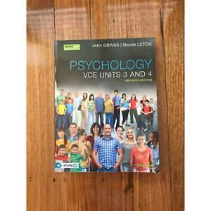 VCE psychology unit 3/4 textbook in excellent condition Noble Park Greater Dandenong Preview
