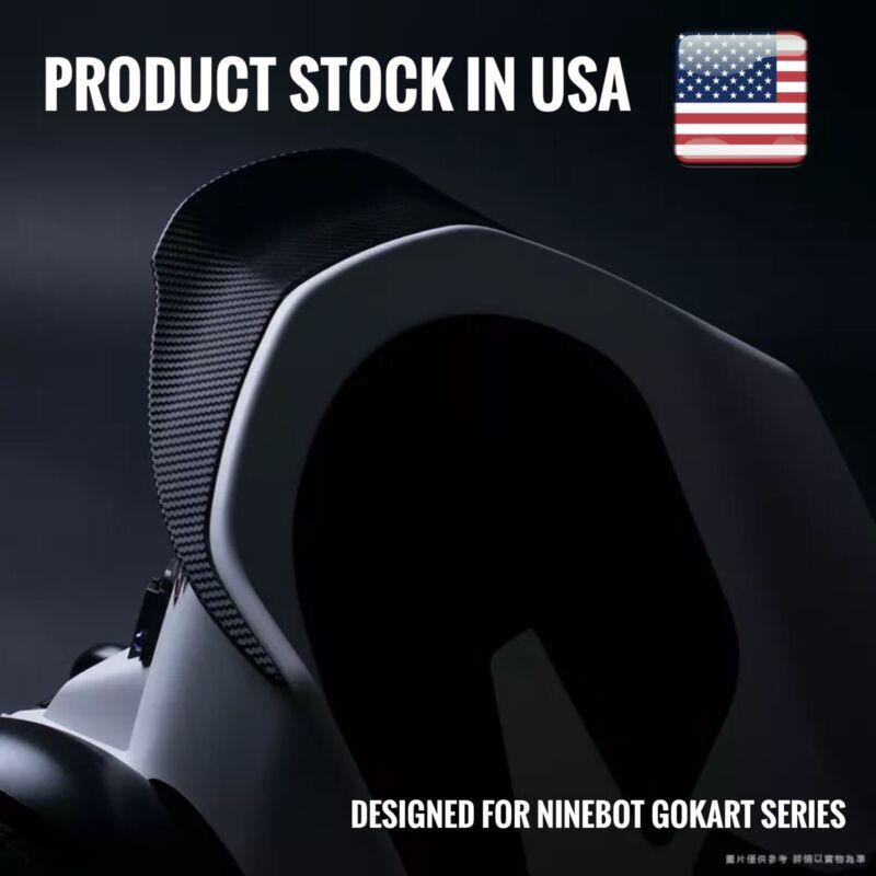 Fits Ninebot Gokart Kit Pro Ducktail Spoiler Duck Tail Carbon Fiber