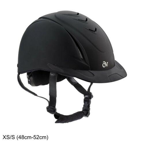 Ovation Deluxe Schooler Riding Helmet, Black, Extra Small/Small