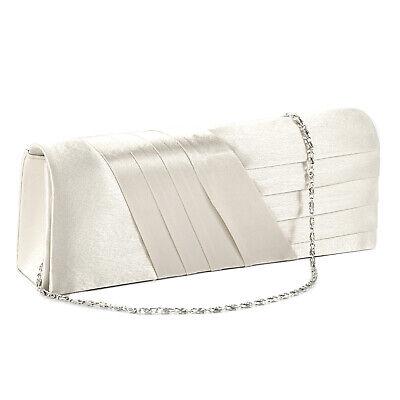 Neu! Abendtasche Damentasche Clutch Hochzeit Brauttasche Handtasche Champagne - Hochzeit Clutch