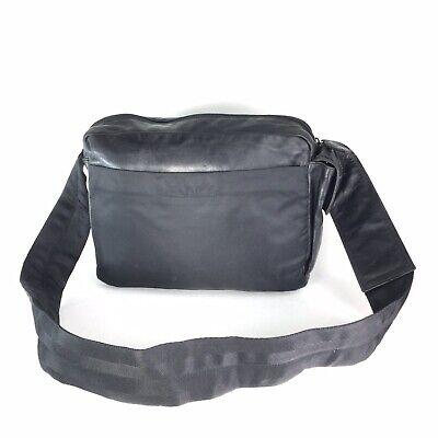 PRADA Crossbody Black Sling Shoulder Handbag Purse * Made in ITALY