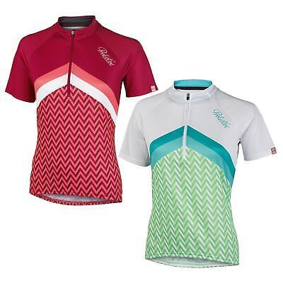 Protective Albury Damen Fahrrad Trikot Kurzarm Jersey Shirt Sport Reißverschluss