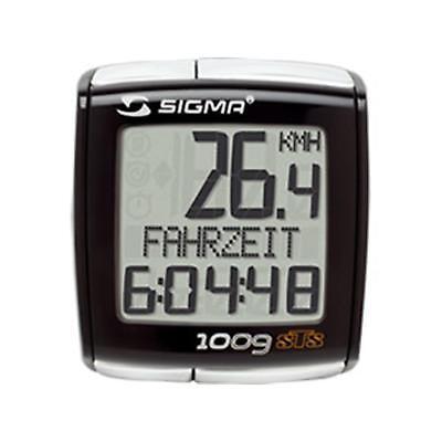 Sigma Sport BC 1009 STS kabellos Fahrradcomputer funk Fahrradtacho drahtlos PC online kaufen