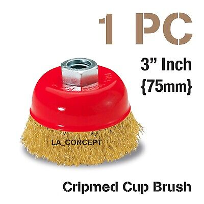 NEW BUY MORE /& SAVE 10/% !! Milwaukee 48-52-5040  2-3//4-Inch Knot Cup Brush