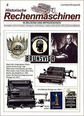 Historische Rechenmaschinen in Bildern...: BRUNSVIGA