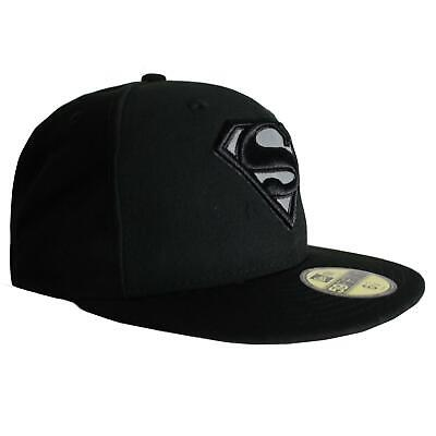 New Era 9Fifty Hero Reflect Superman Hat Snapback Black