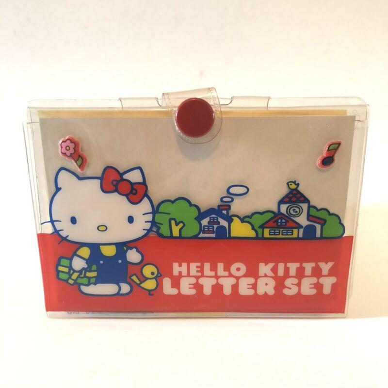 Vintage 1976 Sanrio Hello Kitty Letter Set