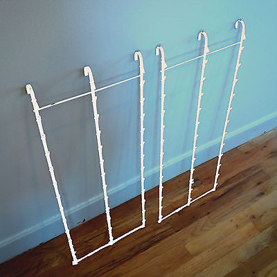 Two New 3 Strips 39 Clip Potato Chip Candy Snack White Hanging Display Racks