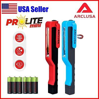 Arclusa 2PC Multifuction COB LED Magnetic Pen Work Light Inspection Flashlight  ()