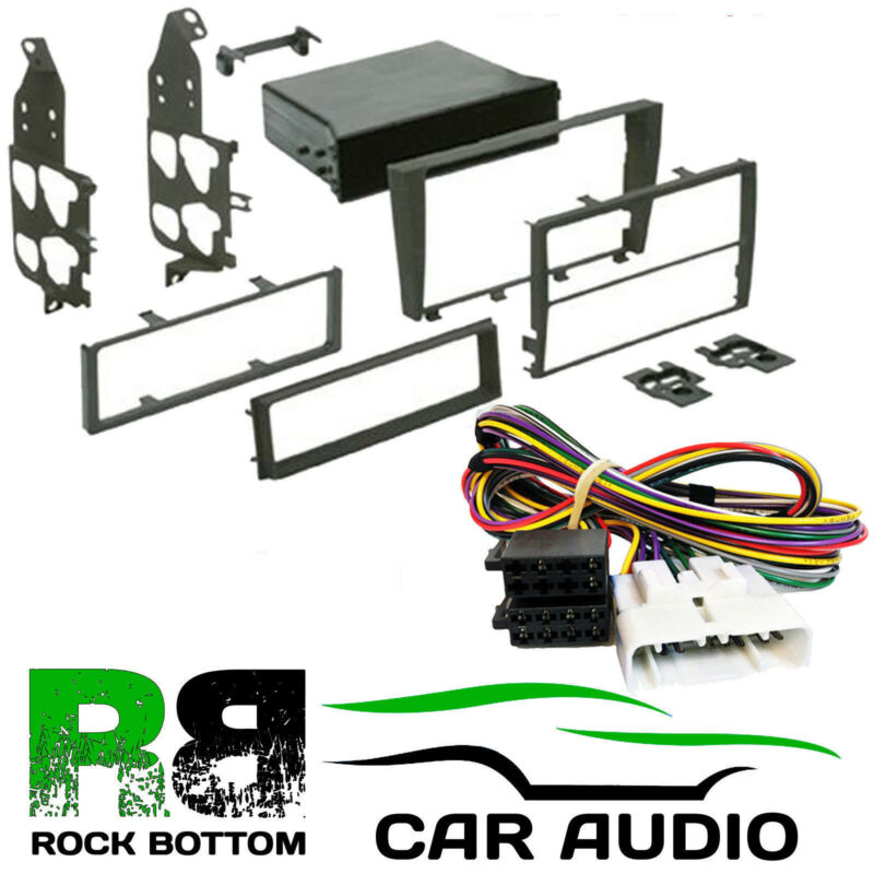 Lexus IS300 01-04 Single or D/ Din Car Stereo Fascia & Amp By-pass Kit