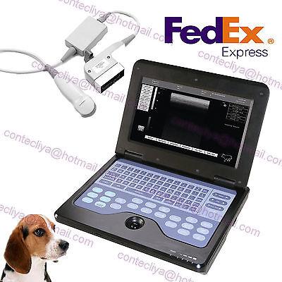 New Ce Micro Convex Veterinary Laptop Ultrasound Scanner Machine To Dogcatpet
