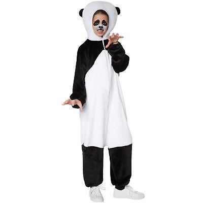 Kinderkostüm Panda Tier Karneval Fasching Halloween Jungen Mädchen Junge
