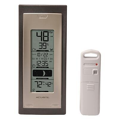 Acu Rite Wireless Thermometer (AcuRite 00592A4 Wireless Indoor/Outdoor Thermometer with Humidity Sensor )
