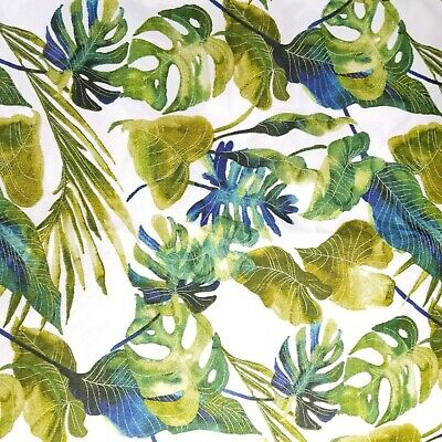 Tommy Bahama Outdoor Falling Fronds Leaves Fabric 1.5 + Yards Outdoor Decorator  Outdoor Decorator Fabric