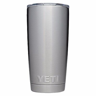 YETI Rambler 20 oz Stainless Steel Vacuum Insulated Tumbler with Lid