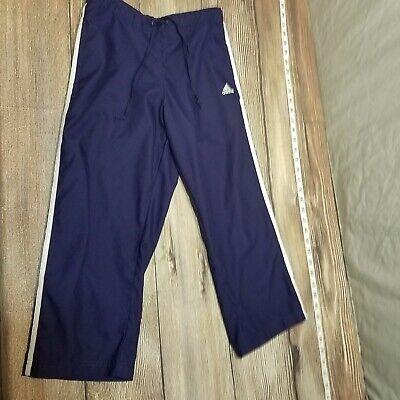 Adidas Womens Purple Athletic Pants Track Cropped Capri