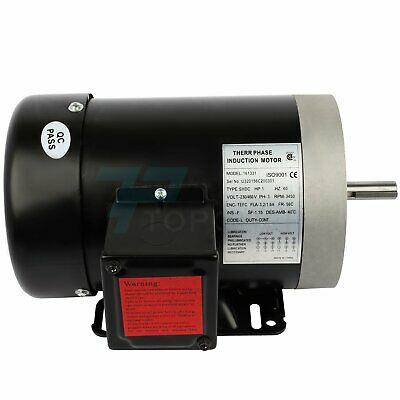1hp Electric Motor For Air Compressor 3 Phase 3450rpm 60hz 230460volt