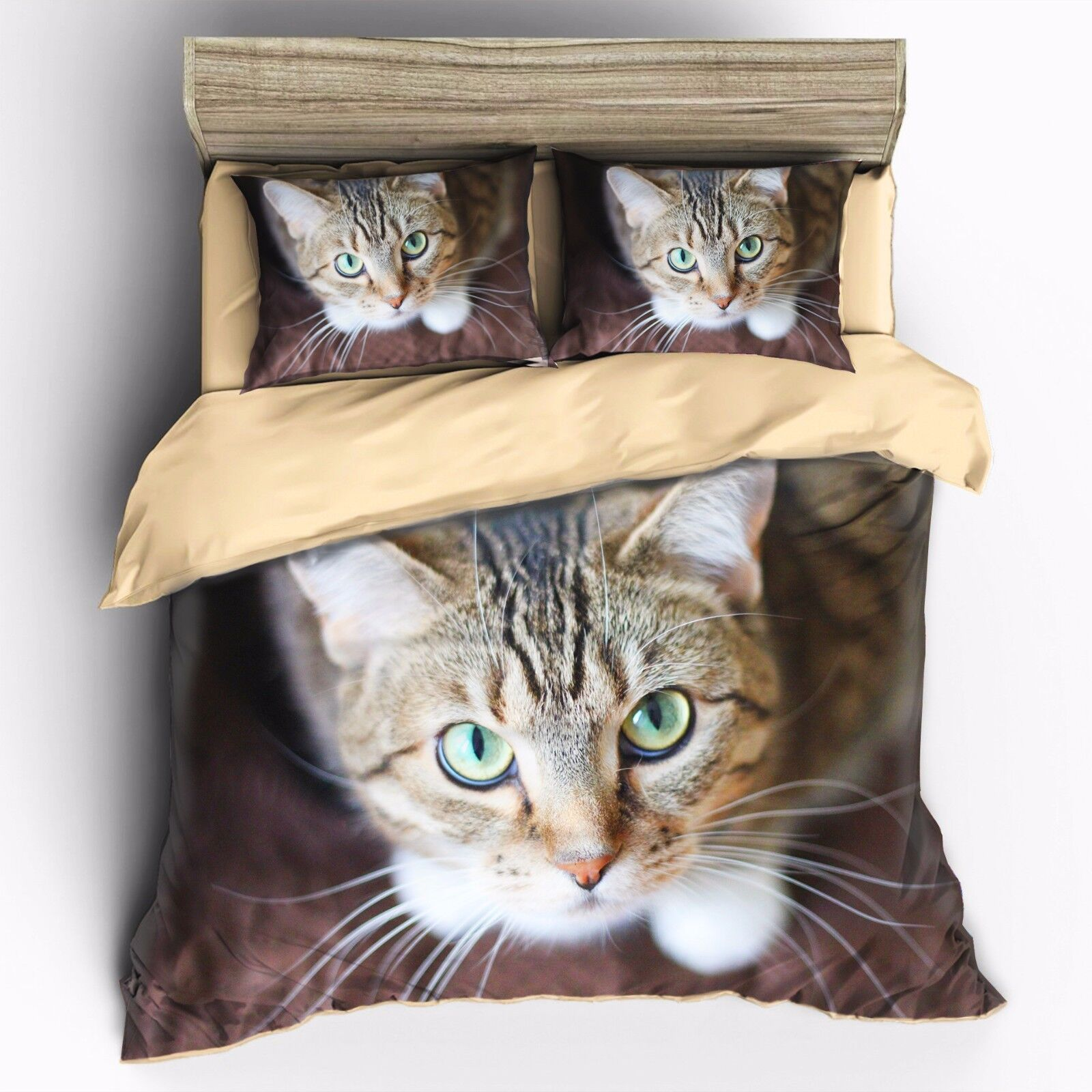 Cute Cat bedding set King Quenn Full Double Twin Single Quil