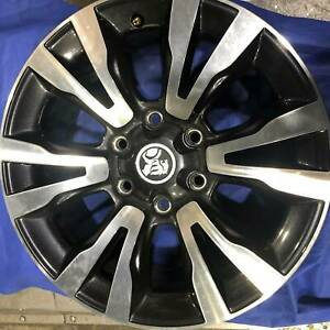 SET OF FOUR (4) HOLDEN 18x7.5 6/139.7 et33 OE COLORADO Aspley Brisbane North East Preview