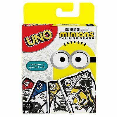 Minions: UNO Featuring Illumination's Minions: The Rise of Gru, Card Game for...