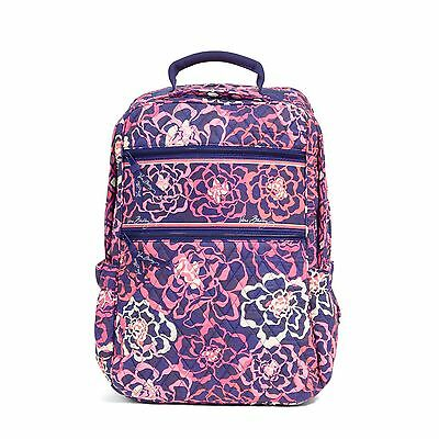 Vera Bradley Tech Backpack in Katalina Pink