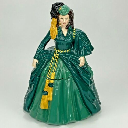 Scarlett O'Hara Gone With The Wind Cookie Jar Limited Edition By Happy Memories