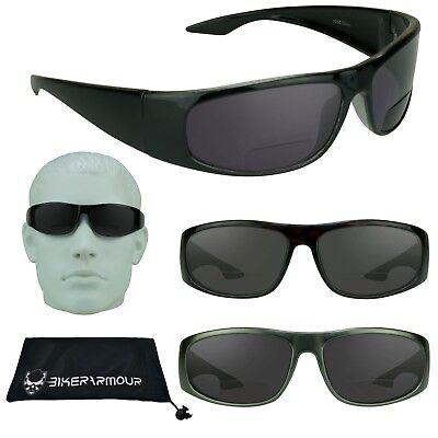 Sport Bifokale Sonnenbrille Sun Lesebrille für Fahrrad Fischen Motorrad + 1.0 zu