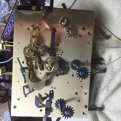 Grandfather clock movement