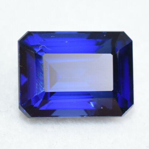 Certified 6.90 Ct Natural Ceylon Blue Sapphire Unheated Loose Gemstones