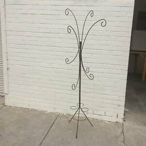retro rusty hanging plant stand, hanging basket stand WE CAN DELIVER