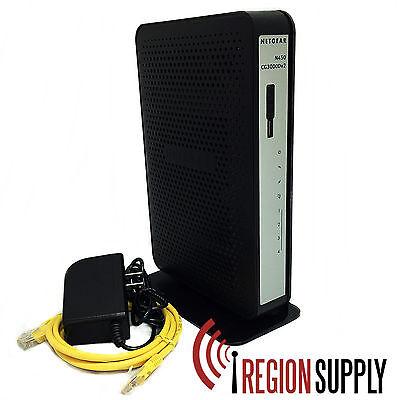 Netgear CG3000Dv2 N450 Docsis 3.0 Cable Modem Wireless Router Xfinity, WOW, TWC